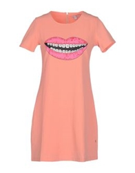 Kling Short Dresses Salmon Pink