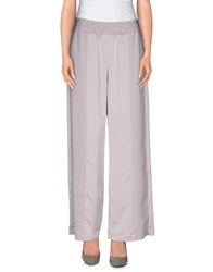 Chlotilde Trousers Casual Trousers Women Grey
