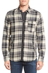 Jeremiah Men's Fargo Zip Flannel Shirt Jacket