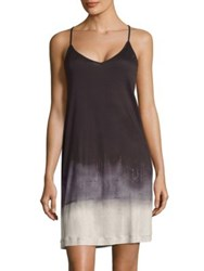 Hanro Amelie Spaghetti Chemise Abstract Pigment