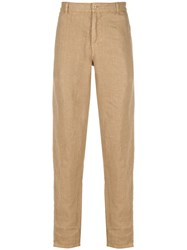 Aspesi Relaxed Linen Chinos 60