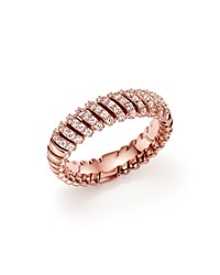 Bloomingdale's Diamond Band Ring In 14K Rose Gold .50 Ct. T.W.