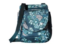 Haiku Swift Grab Bag Hydrangea Print Handbags Green