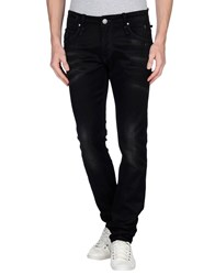 Acht Denim Denim Trousers Men Black