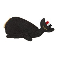 Thom Browne Black Whale Pouch