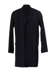 Tillmann Lauterbach Full Length Jackets Dark Blue