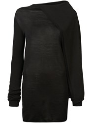 Rick Owens Cape Tunic Black