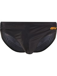 Gcds Logo Print Swimming Briefs 60