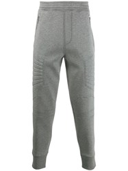 Neil Barrett Quilted Track Pants Grey