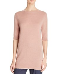 Vince Cashmere Tunic Red