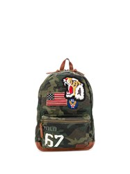 Ralph Lauren Patch Embroidered Backpackcamo 60