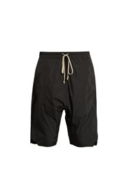 Rick Owens Dropped Crotch Shorts Black