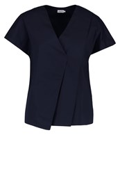 Filippa K Blouse Navy Dark Blue