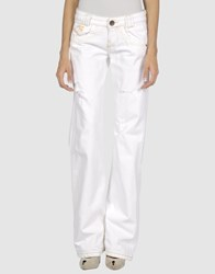Killah Denim Denim Trousers Women White