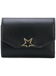 Golden Goose Deluxe Brand Star Embellished Wallet Women Leather One Size Black