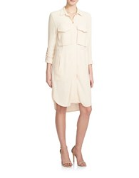 1.State Hi Lo Patch Pocket Shirtdress Brown
