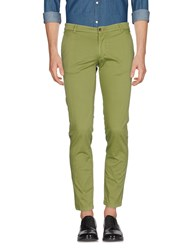 One Seven Two Casual Pants Green