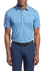 Men's Under Armour 'Playoff' Short Sleeve Polo Squadron Academy