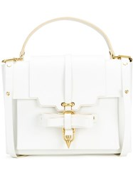 Niels Peeraer Detachable Strap Backpack White