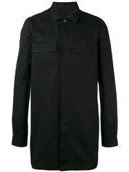 Rick Owens Drkshdw Cargo Pocket Shirt Black