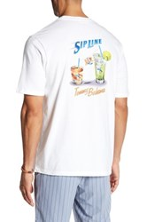 Tommy Bahama Sip Line T Shirt White