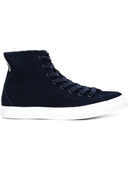 Saturdays Surf Nyc 'Mike' Hi Top Sneakers Blue