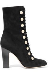 Jimmy Choo Malta Suede Boots Black