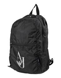 Armani Jeans Backpacks And Fanny Packs Black