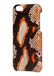 The Case Factory Orange Watersnake Iphone 6 6S Multicoloured
