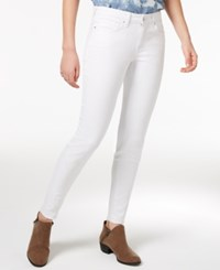 William Rast The Perfect Skinny White Wash Released Hem Jeans