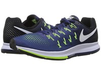 Nike Air Zoom Pegasus 33 Loyal Blue Black Ghost Green White Men's Running Shoes