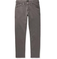 Paul Smith Ps Slim Fit Tapered Garment Dyed Denim Jeans Dark Gray