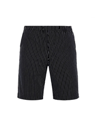 Raey Straight Leg Pinstripe Cotton Shorts