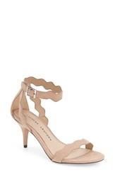 Women's Chinese Laundry 'Rubie' Scalloped Ankle Strap Sandal Dark Nude