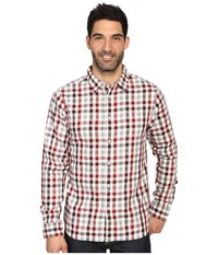 The North Face Long Sleeve Hayden Pass Shirt Biking Red Plaid Men's Clothing