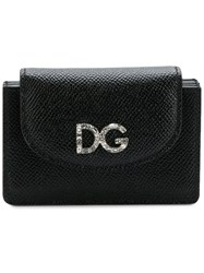 Dolce And Gabbana Leather Purse Black