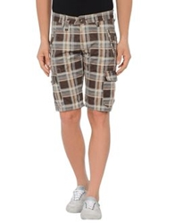 Timezone Bermudas Dark Brown