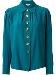 Yves Saint Laurent Vintage Button Down Shirt Green