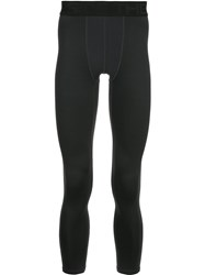 The Upside Fitted Cropped Leggings Black