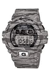 G Shock Xl Camouflage Pattern Digital Watch 58Mm X 54Mm Regular Retail Price 150.00 Grey Camo