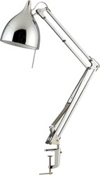 Cb2 Carpenter Chrome Lamp