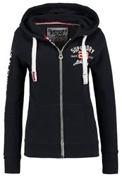 Superdry Track And Field Tracksuit Top Eclipse Navy Dark Blue