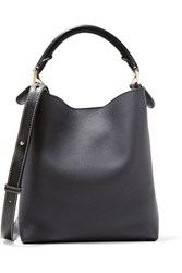 Loewe Hobo Small Textured Leather Shoulder Bag Midnight Blue Gbp