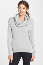 Bench 'Coastal Cluster' Cowl Neck Pullover Gray