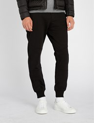 Belstaff Oakington Cotton Jersey Jogging Bottoms Black