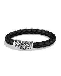 Chevron Bracelet In Black David Yurman