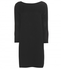 Tom Ford Silk Crepe Dress Black