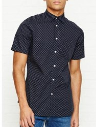 Diesel Dusk Short Sleeve Dot Shirt Navy