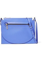 Victoria Beckham Moon Light Leather Shoulder Bag Blue