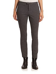 Atm Anthony Thomas Melillo Slim Cargo Stretch Pants Charcoal